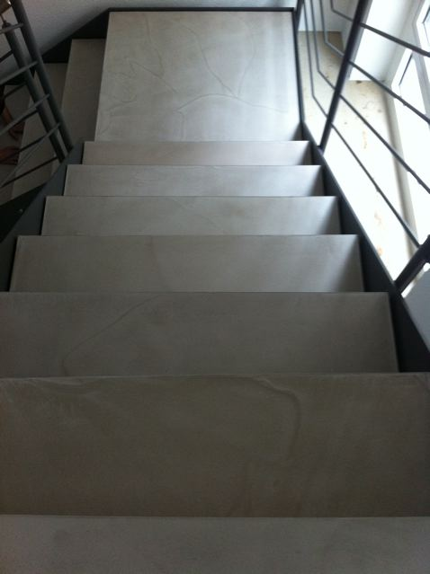 Sonderanfertigung einer Treppe mit PANDOMO K2